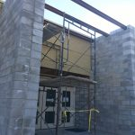 HDM sister's entrance construction